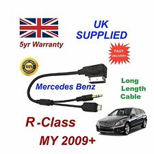 MERCEDES BENZ CLASE R para Samsung Galaxy HTC Sony Micro USB & Aux 3.5mm Cable L
