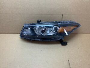 OEM 2010 2011 2012 HONDA ACCORD COUPE HEADLIGHT LEFT SIDE LH NICE!!