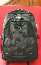 Authentic HIGH SIERRA Zestar Laptop (15inch) Backpack in Black /Fatigue