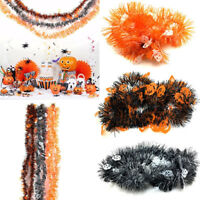 2M Halloween Party Hanging Garland Banner Tinsel Chain Pumpkin Ghost Decoration