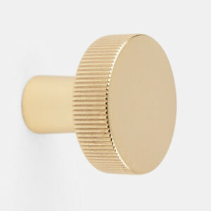 Rejuvenation West Slope Cabinet Knob, Aged Brass