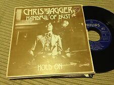 "CHRIS JAGGER - SPANISH 7"" SINGLE SPAIN PHILIPS 74 HANDFUL OF DUST"