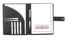 Schreibmappe A5 Copana-Rindnappaleder schwarz –  excl. Marke EuroStyle
