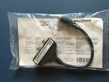 Sealed in package! Genuine Dell 044CTV Laptop S-Video Composite TV-Out Cable