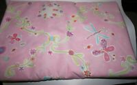 """3yds. x 32"""",  Butterflies & Flowers, Pink, Sewing/Quilting, Cotton Fabric"""