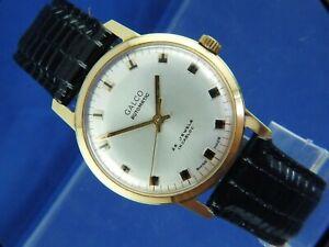 Galco Automatic Watch Circa 1970S Vintage NOS Never Worn 25 jewel ETA 2770