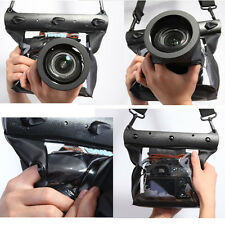 20M Underwater Waterproof Case DSLR SLR For Canon 5D III 5D2 7D 60D Nikon D700