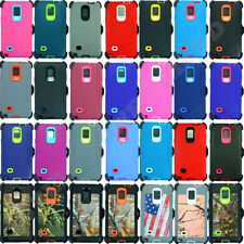 For Samsung Galaxy Note 4 Case Cover (Belt Clip Fits OtterBox Defender) & Screen