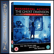 PARANORMAL ACTIVITY: THE GHOST DIMENSION  *BRAND NEW BLURAY **