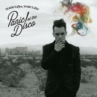 Panic! At The Disco : Too Weird to Live, Too Rare to Die CD (2013) ***NEW***