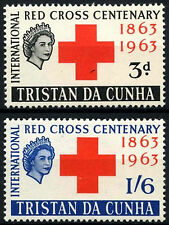 Mint Hinged Postage Tristan da Cunha Stamps