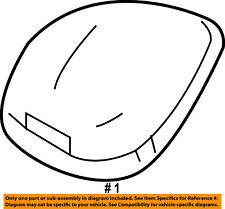 FORD OEM Cab Marker Roof Running Clearance Light-Assy 8C3Z15442C