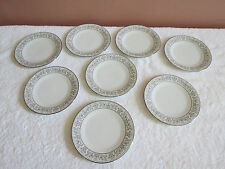 8 Noritake Eminence Bread and Butter Plates