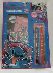 Disney Lilo & Stitch Colouring Play Pack Stationary Set Christmas Gift