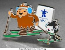 OLYMPIC PINS 2010 VANCOUVER CANADA SKIING MASCOTS