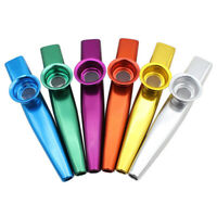 EE_ AM_ CHILDREN KIDS TOY KAZOO MOUTH FLUTE MUSIC INSTRUMENT HARMONICA PERCUSSIO