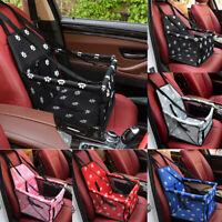 Portable Dog Car Seat Belt Booster Travel Carrier Folding Bag For Pet Cat Puppy`