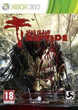 Dead Island Riptide Microsoft Xbox 360 2013 Zombie Walking Dead RPG Deep SIlver
