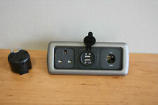 CBE Triple Frame,Campervan, 12v Socket, 240v Socket, Double 12v USB Socket G