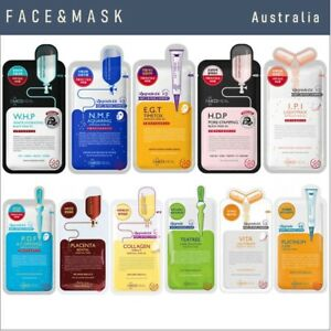 MEDIHEAL Essential and Ampoule Masks  ( 11 different varieties to choose)