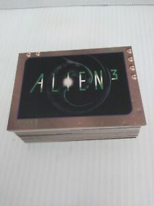 ALIEN 3 1992 STAR PICS. INC. COMPLETE BASE CARD SET 1-80.