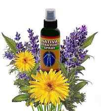 Sativa Pain Spray Hemp Headache Back Hand Foot arthritis RSD night leg cramps