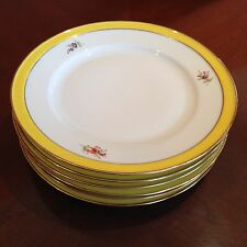 Hochst Hand Painted Porcelain Plates (6) Made in Germany New