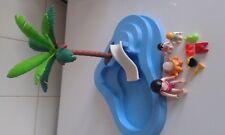 Piscine bassin pour bébé mini toboggan PLAYMOBIL summer fun