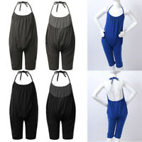 Baby Summer Jumpsuits for Girls Kids Cute Backless Harem Strap Romper Jumpsuit