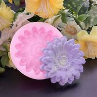 3D Flower Silicone Fondant Cake Chocolate Candy Decorating Sugarcraft DIY Mould