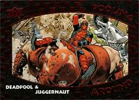 Upper Deck Deadpool Juggernaut Pooling Around Achievement PA1 ePack Exlcusive