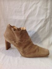 Barratts Brown Ankle Suede Boots Size 8