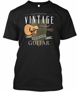 Authentic Vintage Guitar Taylor Music - Original And Gildan Tee T-Shirt