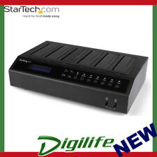 StarTech SATDOCK5U3ER USB 3.0 / eSATA 6-Bay Hard Drive Duplicator Dock - 1:5 HDD