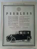 1922 Peerless Eight Motor Car Company Cleveland Ohio vintage ad