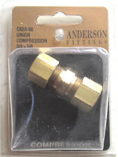 New listing Anderson Brass Union Compression Fitting