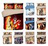 FAIRY TAIL 3PCS Bedding Set Anime Comforter Quilt Cover Pillowcases Duvet Covers
