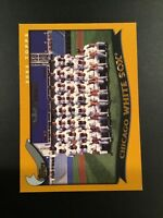 2002 Topps #647 CHICAGO WHITE SOX TEAM CARD Chicago White Sox Look !