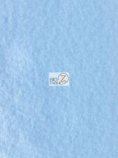 "SOLID POLAR FLEECE FABRIC (ANTI-PILL) - Sky Blue - 60"" WIDE SOLD BY YARD"