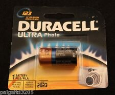 Duracell DL123 3-Volt Lithium Photo Power Batteries DL CR123 CR123A