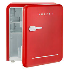 Retro Mini Fridge Compact Refrigerator Classic Freezer Dorm Office Red1.6 Cu Ft