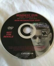 Resident Evil Code: Veronica X Wesker's Report Non-Interactive DVD
