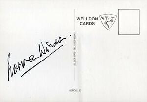 NORMAN WISDOM - Signed 6x4 Postcard - FILM - VARIOUS
