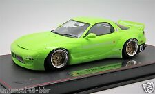 1/18th Make Up Rocket Bunny RX7 Lime Green Free Shipping/ MR BBR Frontiart Davis
