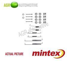 MINTEX REAR BRAKE SHOES SET FITTING KIT PIN SPRINGS GENUINE QUALITY - MBA678
