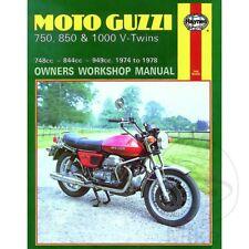 Moto Guzzi Le Mans 850 I 1975-1978 Haynes Service Repair Manual 0339