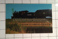 Old Steam Locomotive at Railway Museum: Ontario Postcard