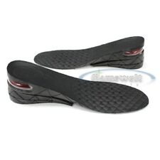MAX TALL shoe HEEL insert insole pad add 2.76 inches 7cm Black Unisex