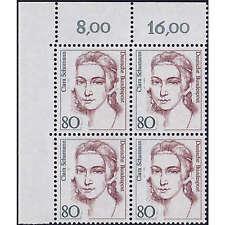 BRD Bund Nr. 1305 I postfrisch ** Eckrandviererblock oben links