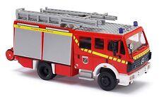 Busch 43805 Mercedes-Benz MK94 Pompieri Moorrege H0 #NUOVO in scatola originale